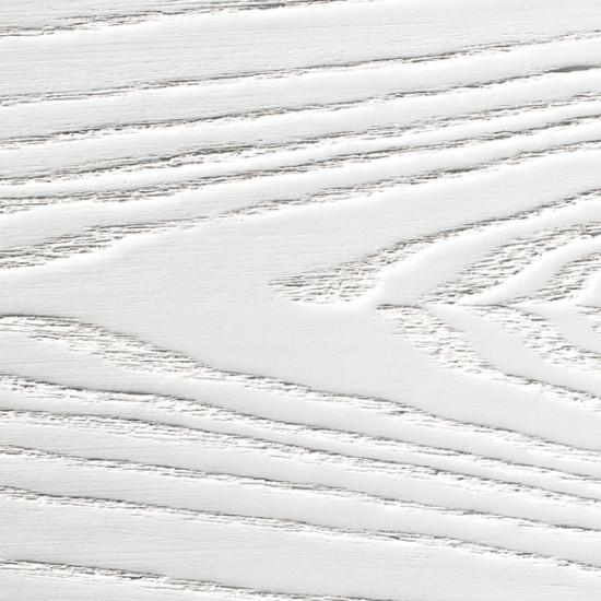 Flush door white lacquered ash palette