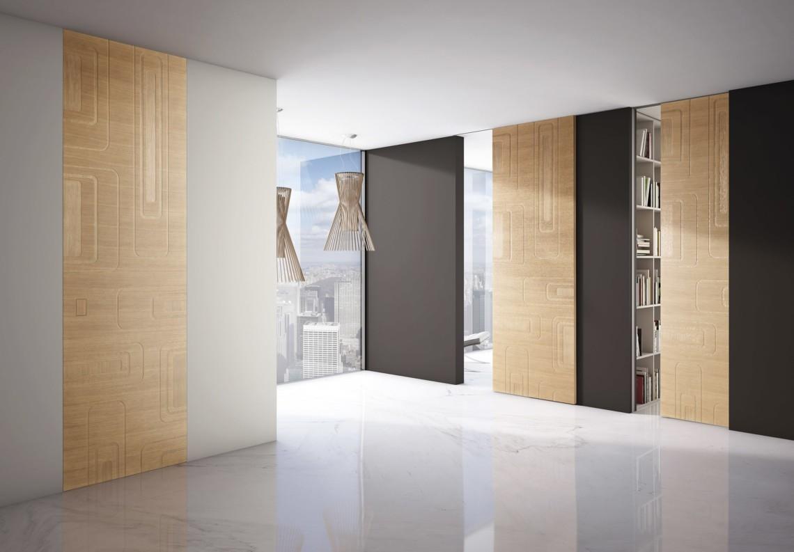 Porte Moderne Filomuro Bellunato Collection