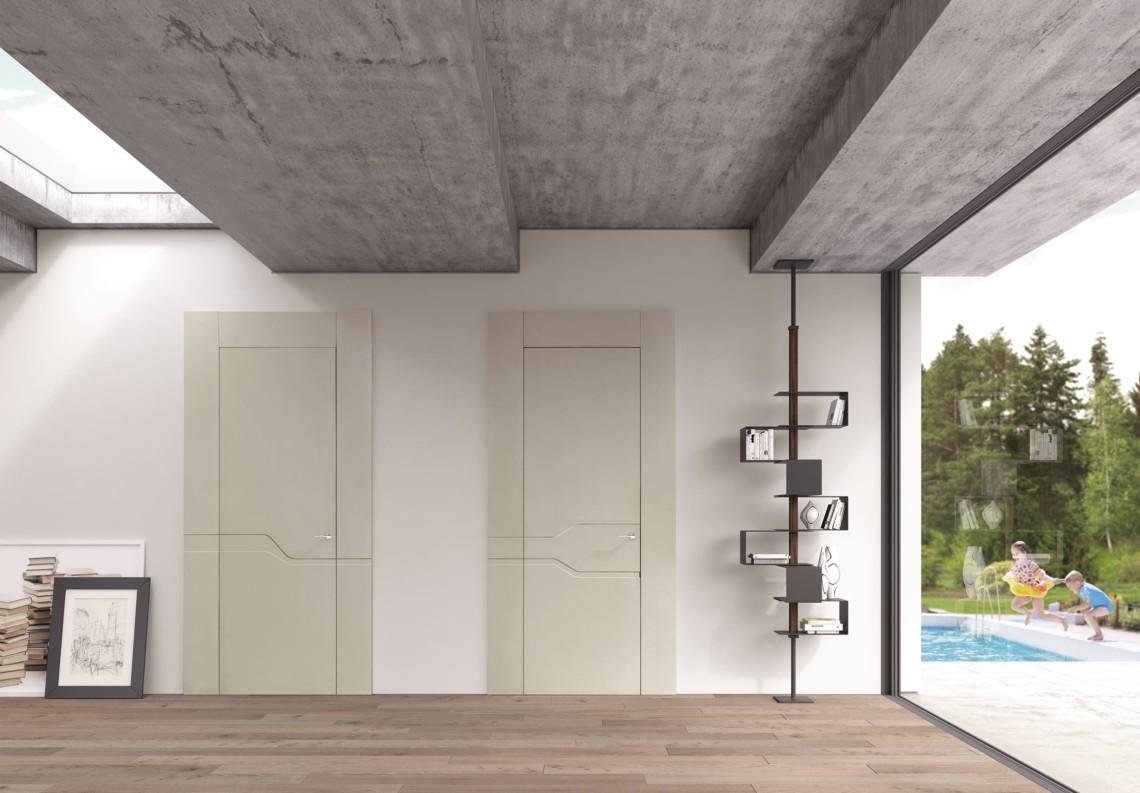 Porta moderna a battente 50° Collection