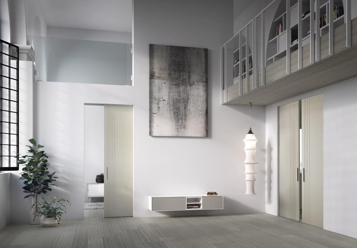 Porte Moderne Scorrevole 50° Collection