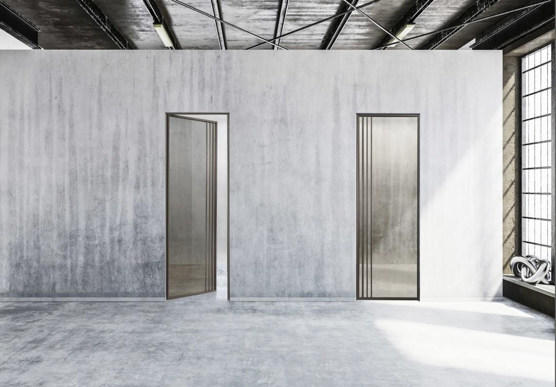 Porte moderne a battente TIP